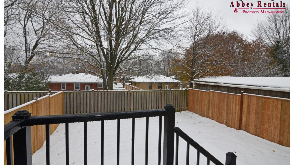 188 Trowbridge Ave Unit B-large-012-9-View out to Yard-1500x994-72dpi