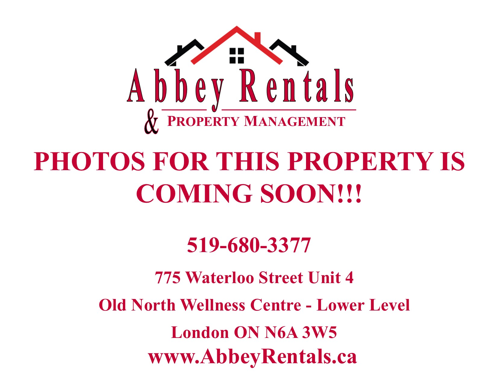 Bachelor unit located on the 3rd floor near Downtown London